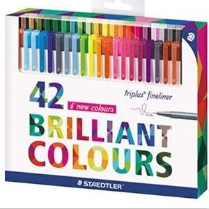 Other - GUC Staedtler Triplus Fineliner Pen Set of 42!